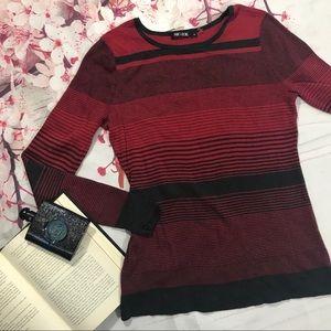 Nic + Zoe - NWOT Striped Sweater